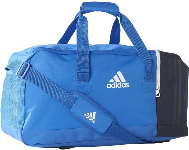 1be6f322973a0 Adidas Torba sportowa Tiro Team Bag Medium 45 Blue Collegiate Navy White  (B46127) w Sklep-presto.pl
