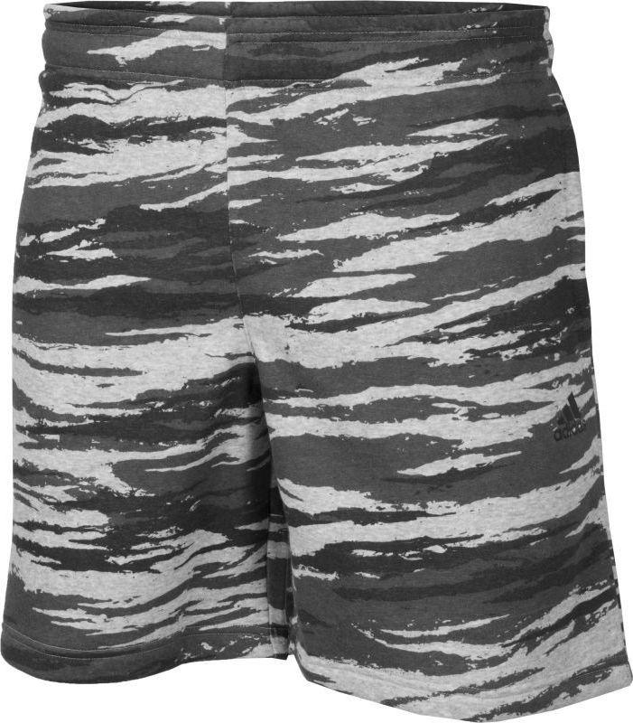 check out e2de1 e6017 ... ed36054cc9a2 Adidas Spodenki męskie Essentials Print Shorts szare r. S  (AY9102) w .