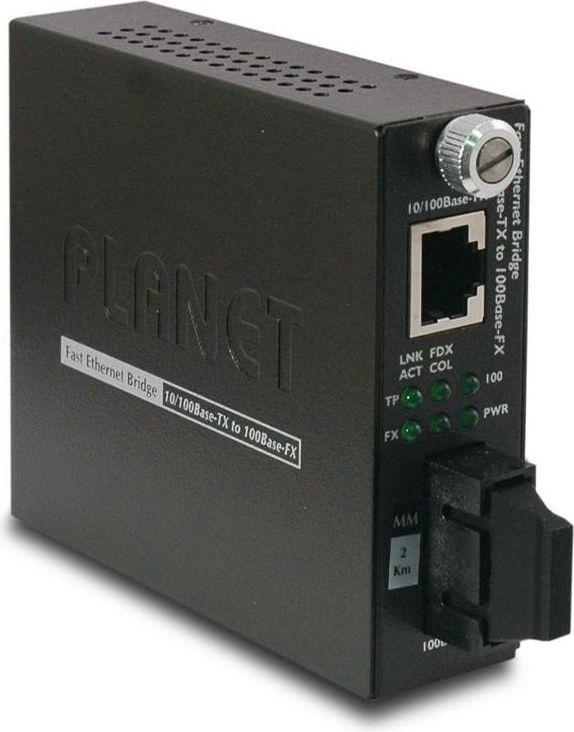 Konwerter światłowodowy Planet FST-802 1