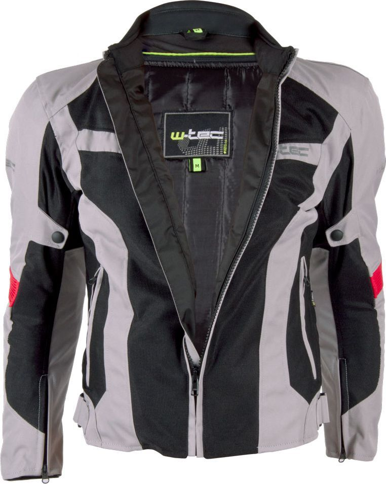 W TEC Męska kurtka motocyklowa Ventex szaro czarna r. L (9769) ID produktu: 1366378