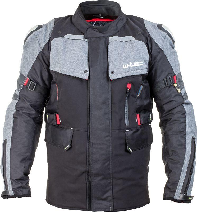 W-TEC Kurtka motocyklowa męska Tomret NF-2220 czarno-szara r. M (15189) 1