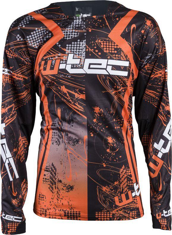 W-TEC Koszulka motocyklowa NF-5105 czarno-pomarańczowa r. XXL (12166-2-XXL) 1