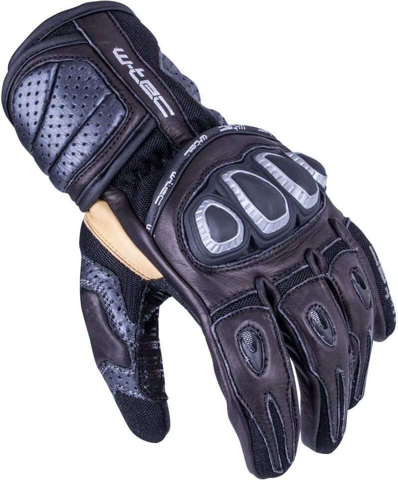 W-TEC Męskie rękawice motocyklowe Crushberg GID-16022 czarny r. L (14987-L) 1