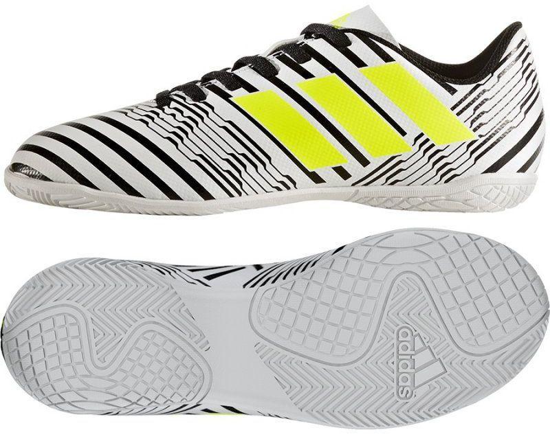 2e8c3ce6f437e Adidas Buty piłkarskie Nemeziz 17.4 IN JR Czarno-Białe r. 36 - (S82464) w  Sklep-presto.pl