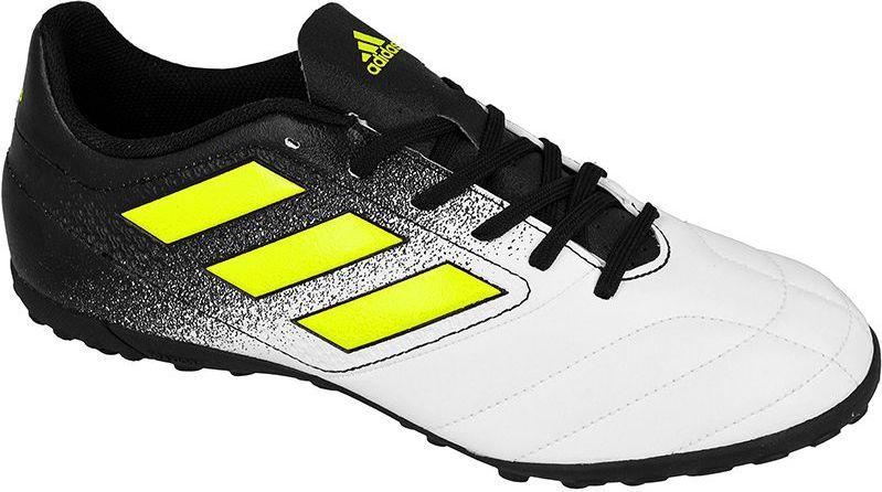 Adidas Buty piłkarskie ACE 17.4 TF biało czarne r. 44 23 (S77112) ID produktu: 1369513