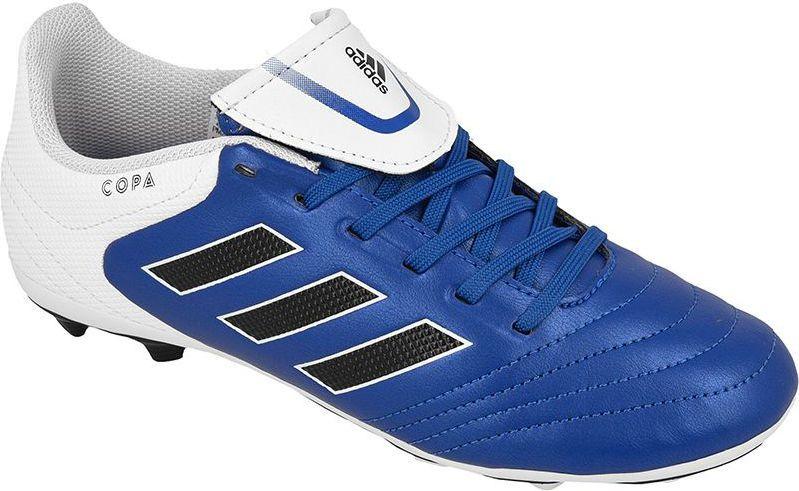 b20ffd1d Adidas Buty piłkarskie Copa 17.4 FxG Jr niebieskie r. 37 1/3 (BA9734 ...