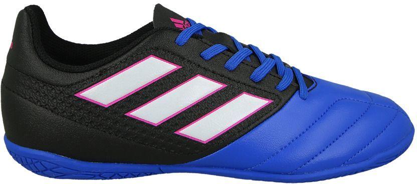 Adidas Buty juniorskie ACE 17.4 IN Jr niebiesko czarne r. 35 (BB5584) ID produktu: 1370369