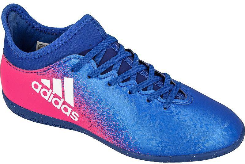 Adidas Buty halowe X16.3 IN Jr Niebieskie r. 34 (BB5720) ID produktu: 1370620