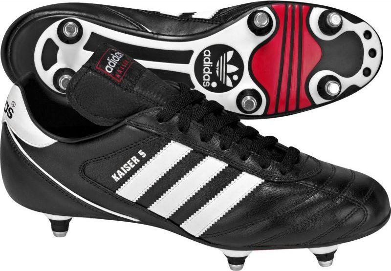 Adidas Buty piłkarskie Kaiser 5 Cup SG czarno białe r. 40 (033200) ID produktu: 1371021