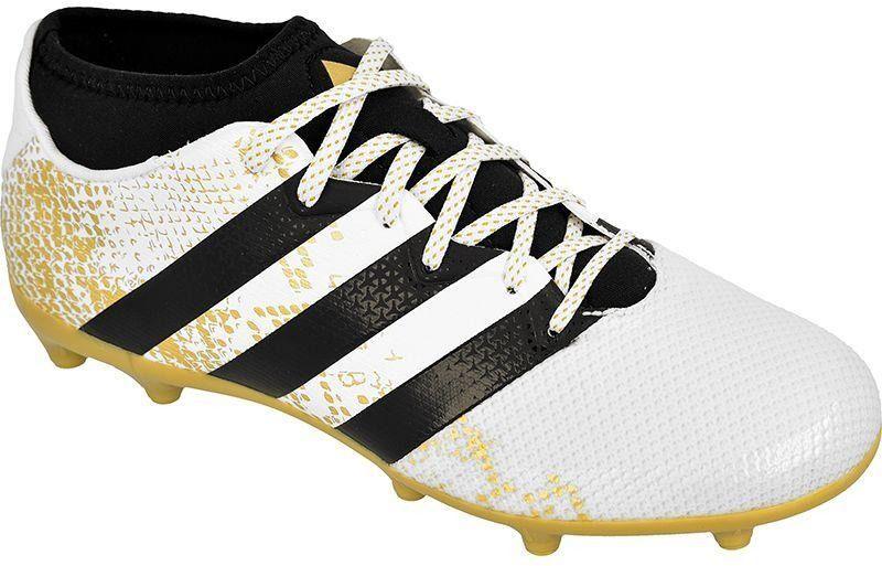 Damskie buty adidas ACE 16.3 Primemesh FGAG BiałyZłotyRóżowy