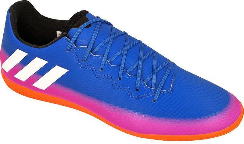 Adidas Buty piłkarskie Messi 16.3 IN M Niebieskie r. 42 23 (BA9018) ID produktu: 1371642