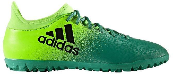 Adidas Buty piłkarskie X 16.3 TF M Zielone r. 48 23 (BB5875) ID produktu: 1372449