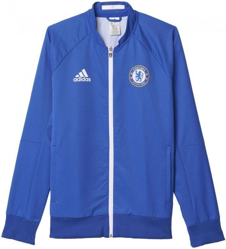 0f5b10af41873c Adidas Bluza piłkarska Chelsea Londyn F.C. Anth Jacket M niebieska r. S  (AC6409) w Sklep-presto.pl