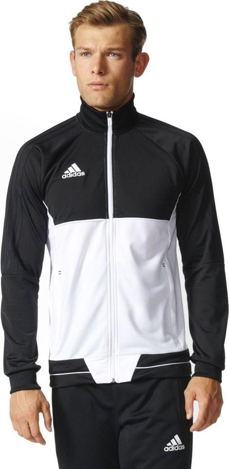 Adidas Bluza piłkarska Tiro 17 czarno biała r. L (BQ2598) ID produktu: 1372734
