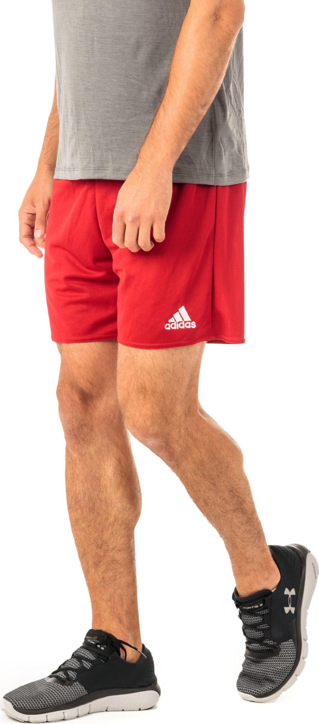 Adidas Spodenki piłkarskie męskie Parma 16 Short czerwone r. XL (AJ5881) ID produktu: 1373761