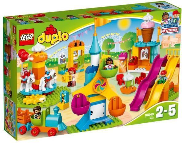 LEGO DUPLO Duże wesołe miasteczko (10840) 1