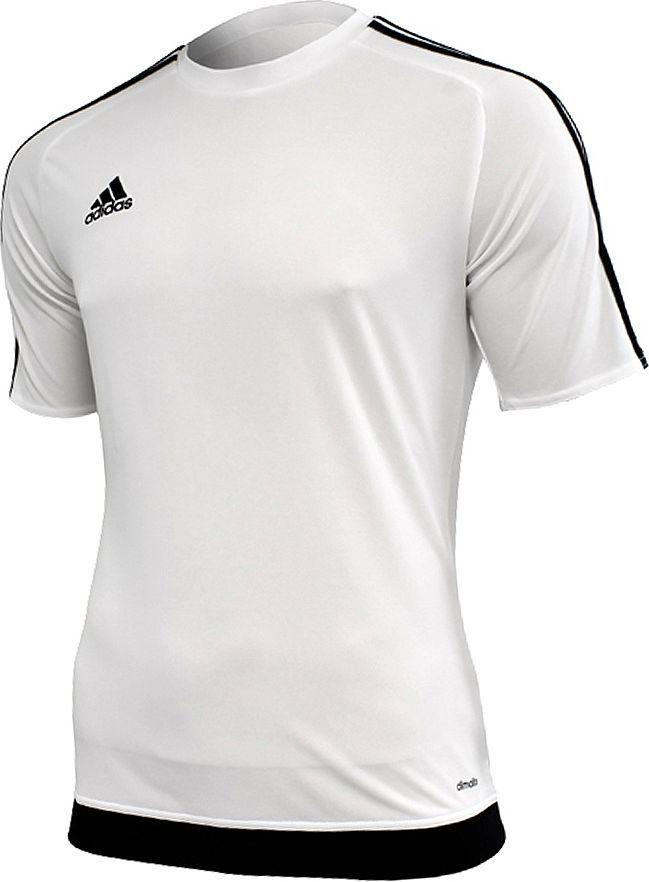 szeroki zasięg sklep najtańszy Adidas Koszulka piłkarska Estro 15 biało-czarna r. L (S16146) ID produktu:  1374993