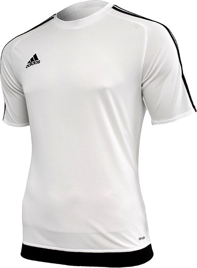 281193d259a6aa Adidas Koszulka piłkarska Estro 15 biało-czarna r. XXL (S16146) w Sklep -presto.pl