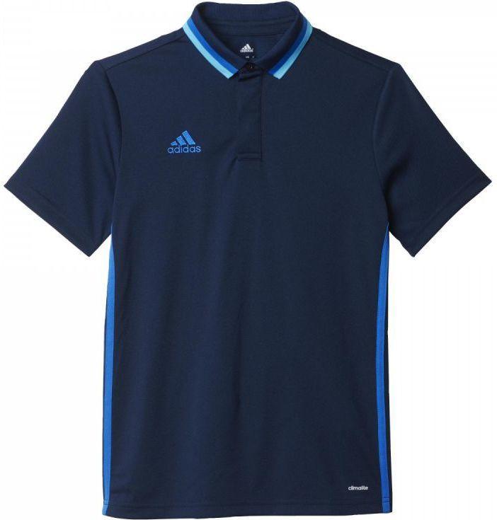Adidas Koszulka piłkarska polo Condivo 16 Junior Granatowa, Rozmiar 152 (AB3133*152) ID produktu: 1375498