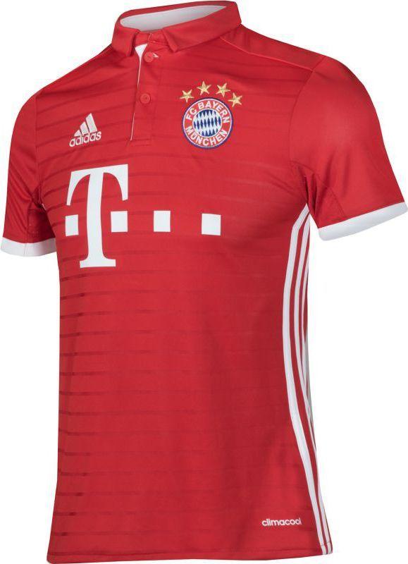 1dcf90f91 Adidas Koszulka piłkarska FC Bayern Monachium Lewandowski Home Junior  Czerwona, Rozmiar 140 (AI0055*140) w Sklep-presto.pl