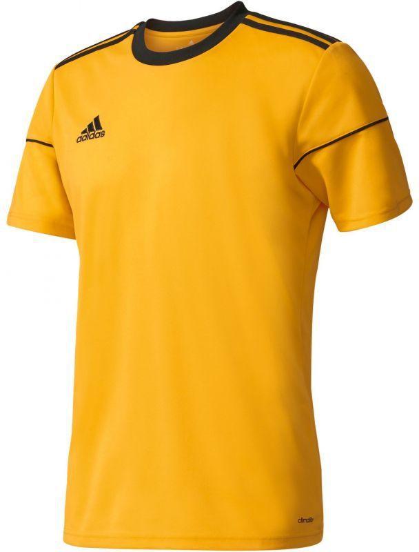 Adidas Koszulka piłkarska Squadra 17 Junior Żółta r.140 (BJ9180*140) ID produktu: 1375544