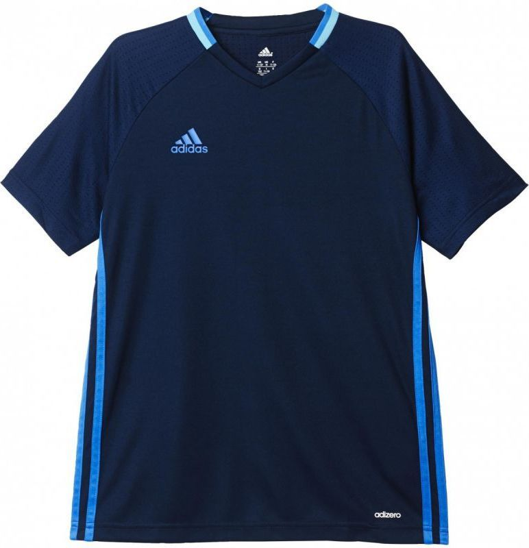 Adidas Koszulka piłkarska Condivo16 Training Jersey Youth Junior Granatowa, Rozmiar 128 (S93541*128) ID produktu: 1376237