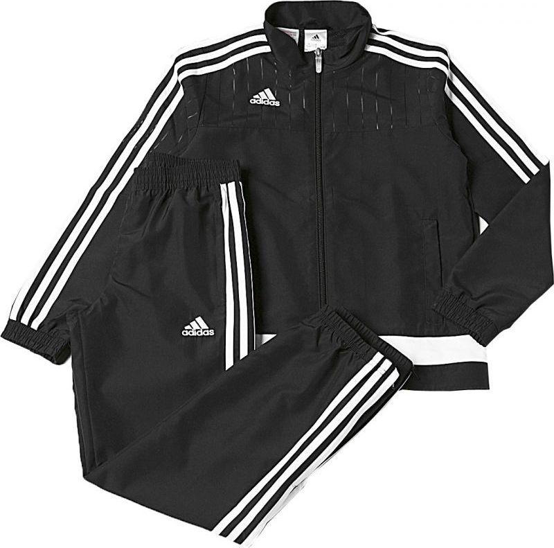 Adidas Dres treningowy Tiro 15 Junior Czarny, Rozmiar 140 (S22281*140) ID produktu: 1376546