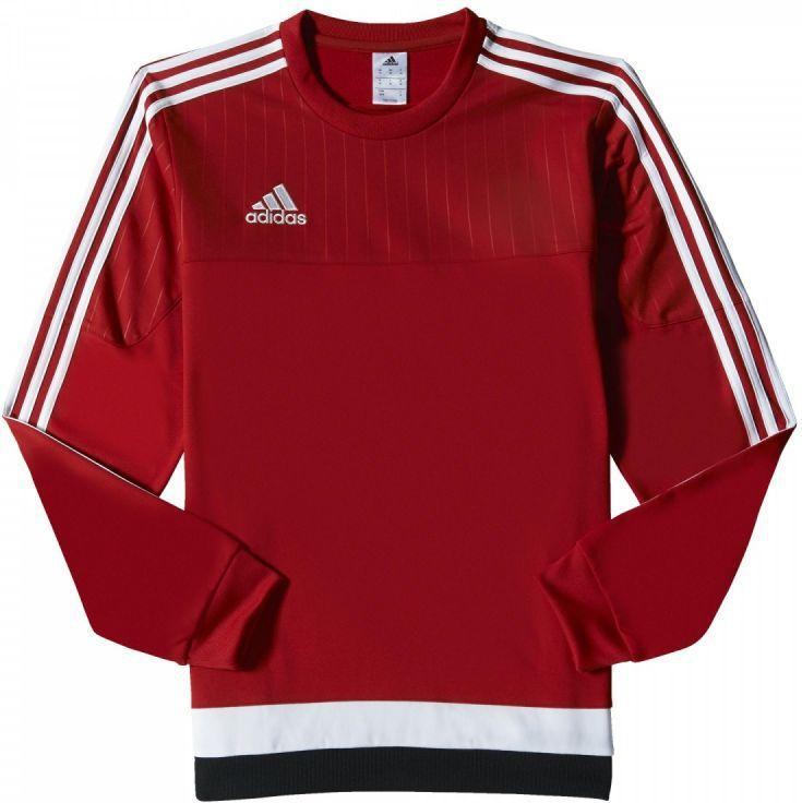 Adidas Bluza treningowa Tiro 15 Sweat Top Czerwona, Rozmiar M (M64071*M) ID produktu: 1376599
