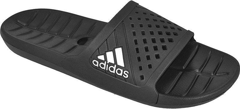 na stopach zdjęcia buty na codzień zniżki z fabryki Adidas Klapki męskie Kyaso kolor czarny r. 39 1/3 (S78121) ID produktu:  1379165