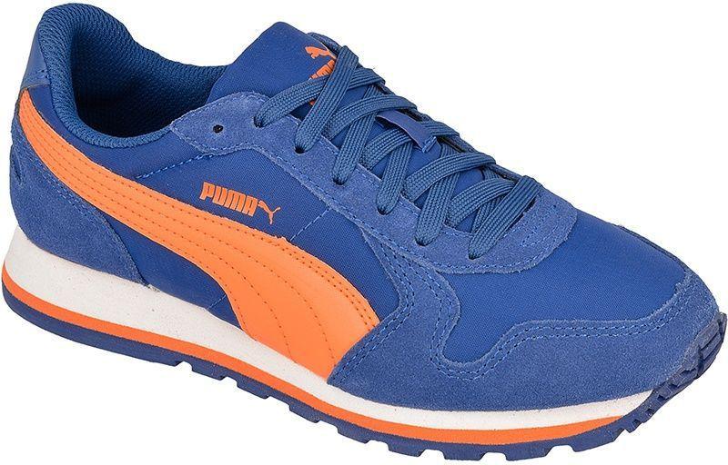 Puma Buty dziecięce ST Runner NL Jr niebiesko pomarańczowe r. 37 (35877008) ID produktu: 1379400