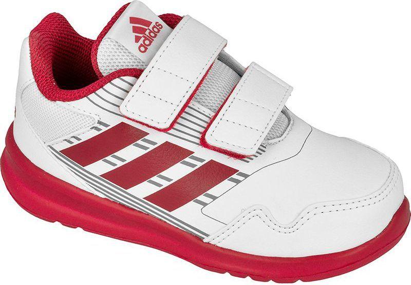 a58f73b020e96 Adidas Buty dziecięce AltaRun CF Kids biało-różowe r. 27 (BA9414) w ...