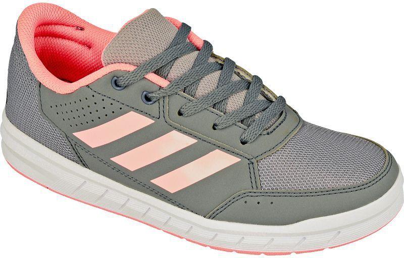 7468ecd8201a7 Adidas Buty dziecięce AltaSport K Jr szaro-brzoskwiniowe r. 35 1/2 (BA9547)  w Sklep-presto.pl