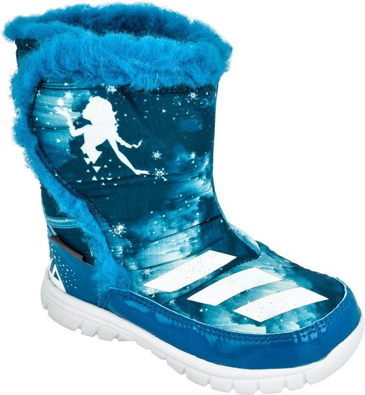 9e2b067722fdb Adidas Buty zimowe adidas Disney Frozen Mid I Kids AQ3656 - AQ3656*25 w  Sklep-presto.pl
