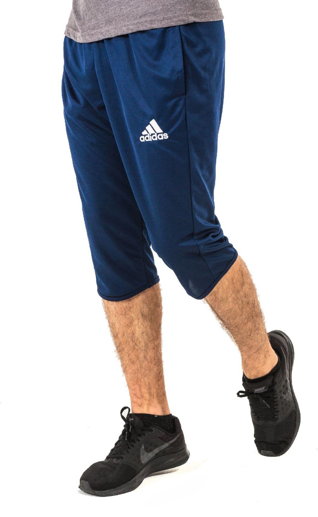 kup sprzedaż wylot przybywa Adidas Spodnie męskie Core 15 3/4 granatowe r. M (S30368) ID produktu:  1381041