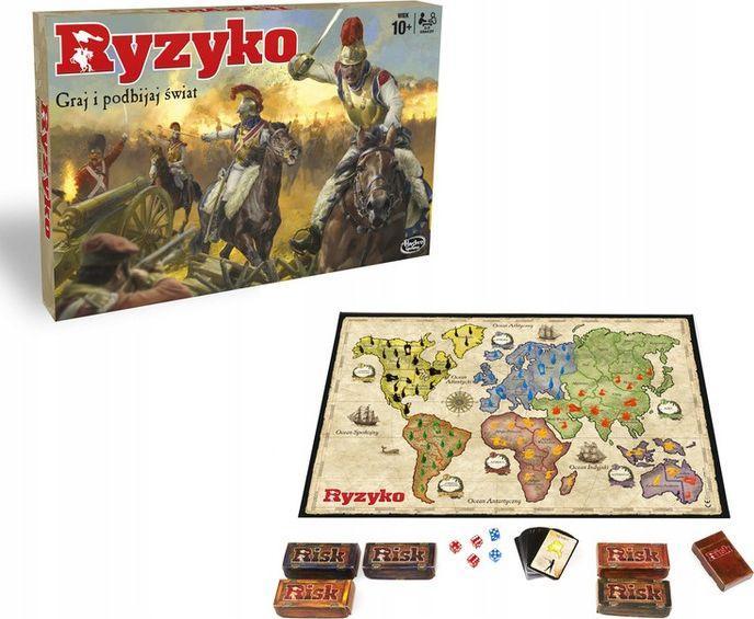 Hasbro Gra Ryzyko (B7404) 1