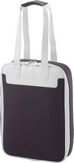 Torba 4World Damska torba do notebooka 14'' CatWalk Purple Grey pionowa 1