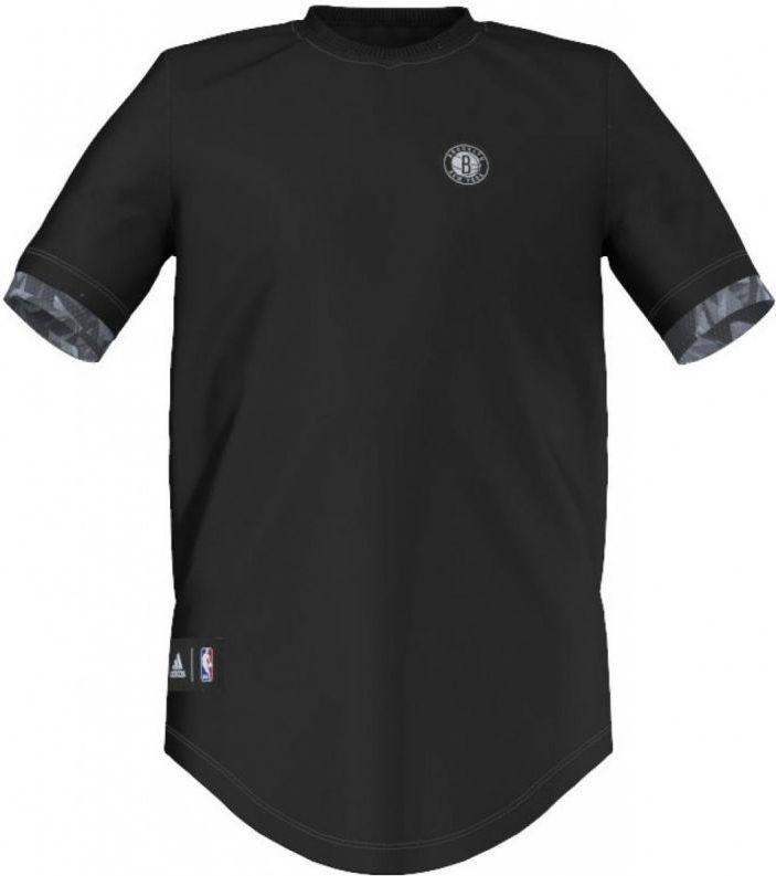 Adidas Koszulka Fanwear Tee Brooklyn Nets Junior Czarna, Rozmiar 176 (AJ1957*176) ID produktu: 1383765