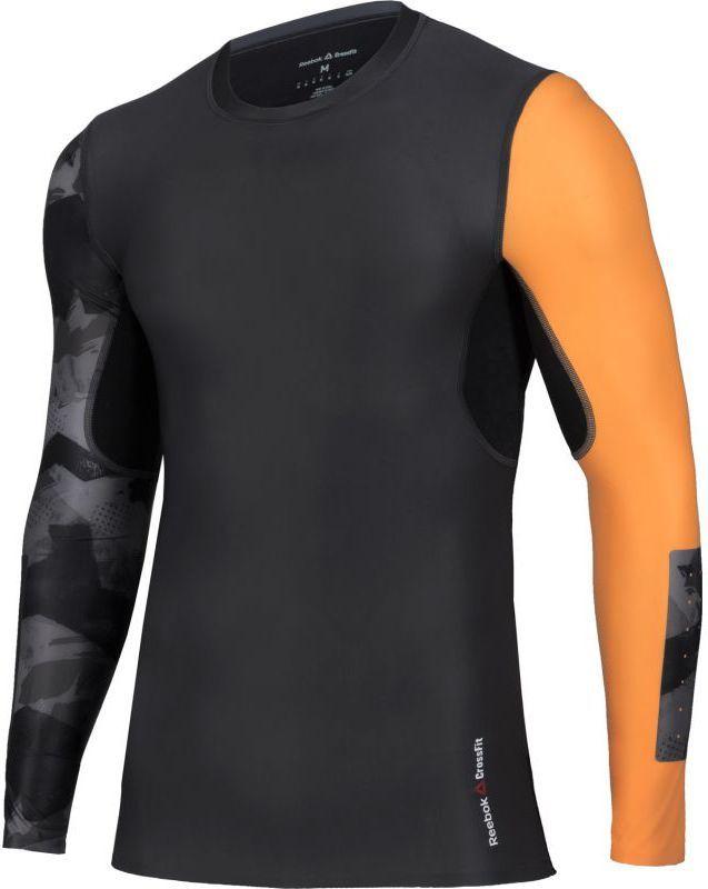 53fe5631 Reebok Koszulka męska CrossFit Long Sleeve czarna r. XL (BK1068) w ...