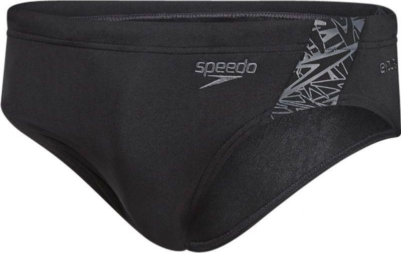 Speedo kąpielówki męskie Boom Splice 7cm Brief black/oxid grey r. M (810854B443) 1