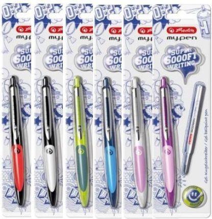 Herlitz Długopis zmazywalny My.Pen różne kolory (166168) 1