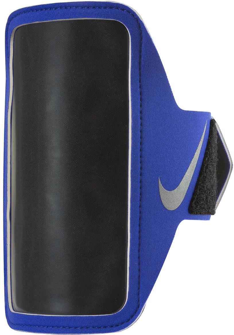 Nike Etui Do Biegania LEAN ARM BAND PARAMOUNT BLUE/BLACK/SILVER 1