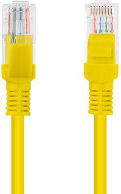 Lanberg Patchcord, Cat6, nieekranowany, 15m, żółty (PCU6-10CC-1500-Y) 1