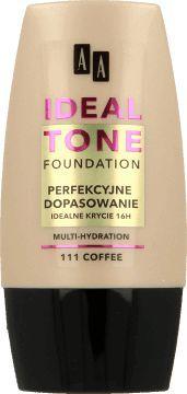 """AA Make Up Ideal Tone Podkład """"Perfekcyjne Dopasowanie"""" nr 111 Coffee 30ml 1"""