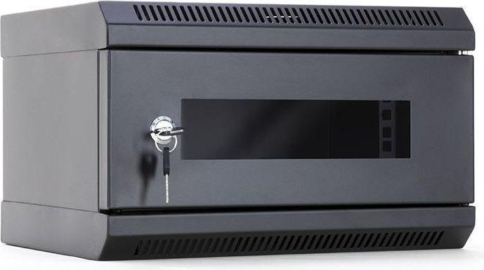 Szafa DigitalBOX START.LAN 10'' 4U 350x200mm czarna (STLWMC10C-4U-GSB) 1