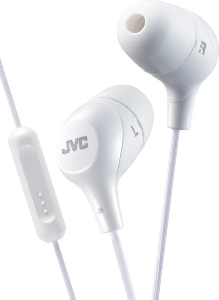 Słuchawki JVC HA-FX38M (HA-FX38M-W-E) 1
