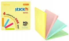 Stickn Notes samoprzylepny Magic Pad Pastel mix 4 kolory (155269) 1