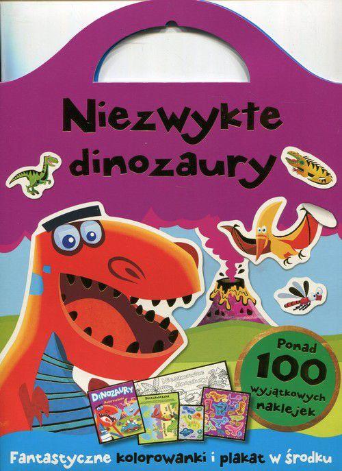 Olesiejuk Niezwykłe Dinozaury Fantazyjne Kolorowanki W Hulahoppl