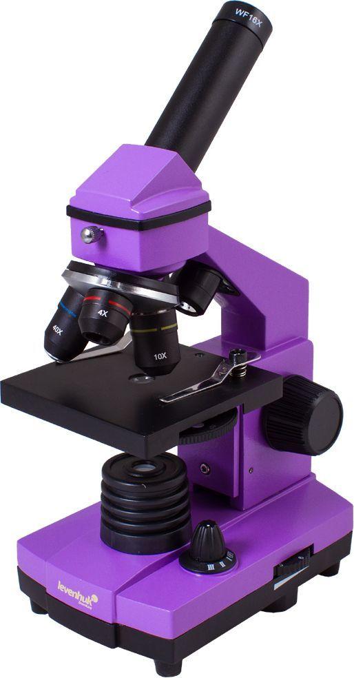 Mikroskop levenhuk Mikroskop Levenhuk Rainbow 2L PLUS ametyst - 69117 1