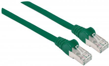 Intellinet Network Solutions Patchcord S/FTP, CAT7, 3m, zielony (740906) 1