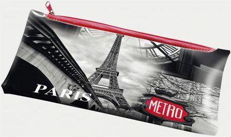 Piórnik Panta Plast z nadrukiem na suwak Paris (231528) 1